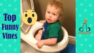 Amazing kids funny videos 2018 😂 Cool kids doing stupid thinks | Try not to laugh challenge
