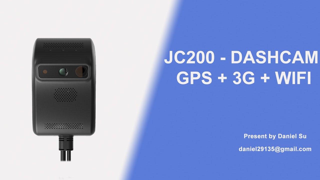 JC200 Dash Cam Jimi Elecronics & Concox