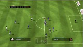 France v Germany FIFA 09 in HD: Online Match
