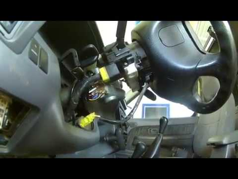 ignition switch electrical 1999 nissan frontier  not the key part