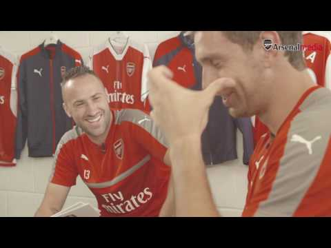 Rapid Fire: David Ospina and Emi Martinez