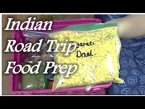 Indian Road Trip Food Prep | Instant mixes | Vacation food Planning | Ready to cook | RinkusRasoi