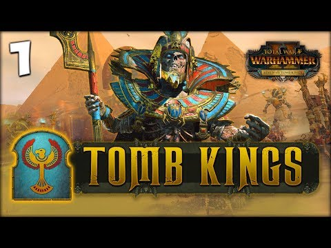 SETTRA DOES NOT SERVE! Total War: Warhammer 2 - Tomb Kings Campaign - Settra #1