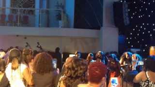 OLAMIDE PERFORMS AT LEKKI WIVES UK PREMIERE