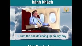 5 câu hỏi thường gặp của hành khách khi đi máy bay