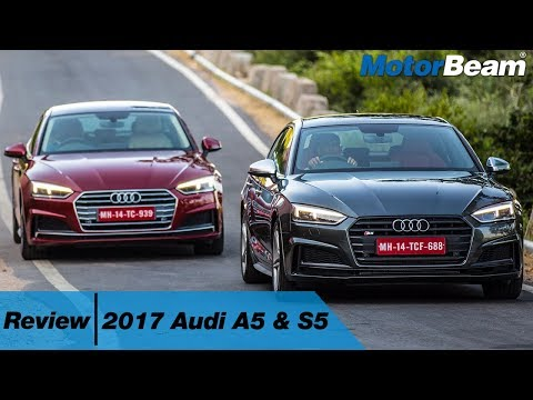2017 Audi A5 & S5 Review - The Bratpack | MotorBeam