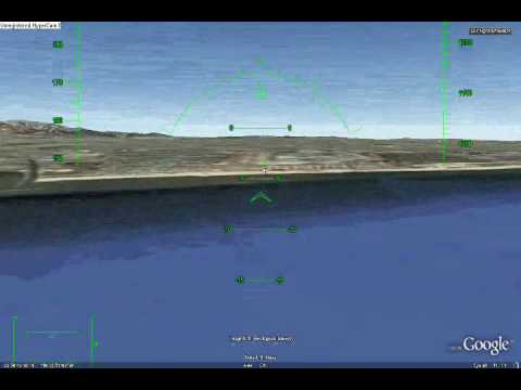 how to fly in google earth flight simulator - YouTube