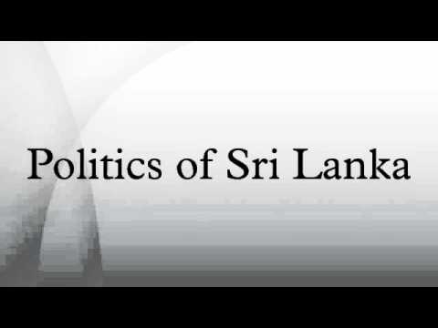 Politics of Sri Lanka