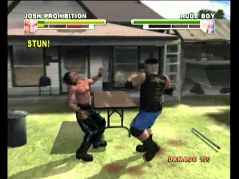 Backyard Wrestling Xbox Gameplay - Backyard Wrestling Xbox Gameplay - YouTube