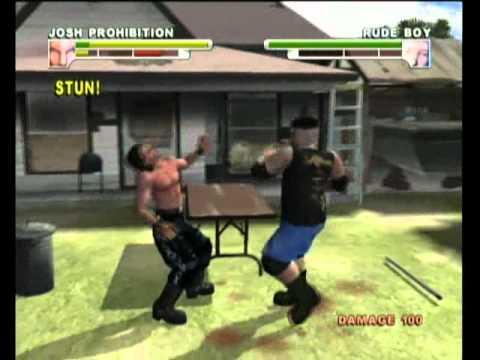Backyard Wrestling Xbox Gameplay  YouTube