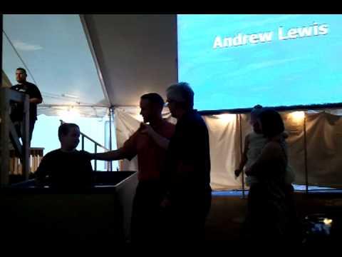 Andrew's Baptism 2011