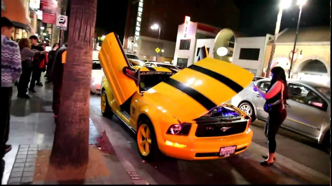 Fall Of Cybertron Wallpaper Hd Mustang Transformer Yellow Youtube