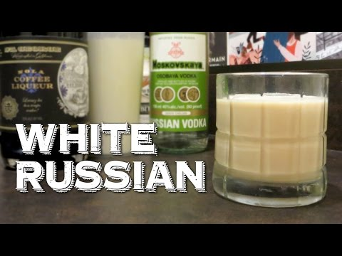 White Russian (aka Caucasian) - Learn How to Drink Cocktails like the Big Lebowski