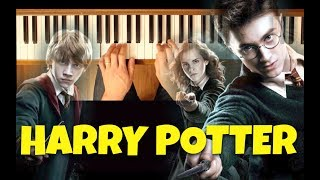 The Chamber of Secrets (Harry Potter) [Intermediate Piano Tutorial]
