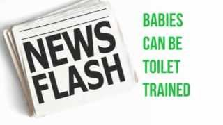 How to toilet train your baby or toddler (Baby Throne is Elimination Communication friendly)