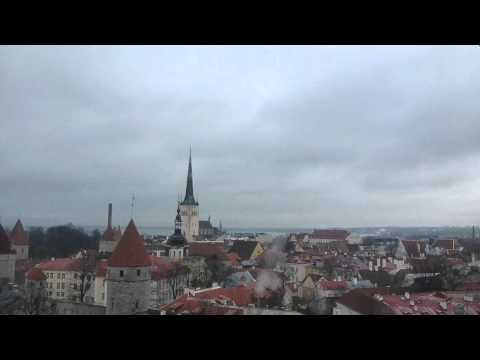 Free Walking Tour with Liine   Part 5   Tallinn Estonia   January 2015