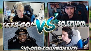 Ninja And King Richard VS Summit And Shroud For $10,000 Highlights! (Ninja And Summit POV!)