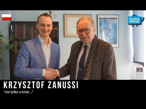 Krzysztof Zanussi w Business Misja  Inspirujące wywiady z ludźmi sukcesu