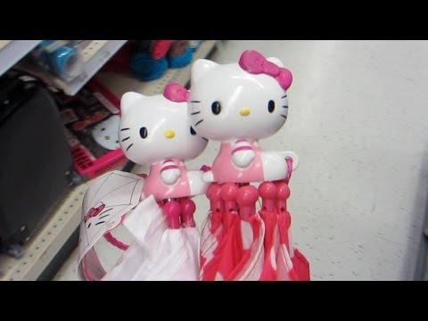 Toys R Us Hello Kitty Umbrellas! - Lana3LW