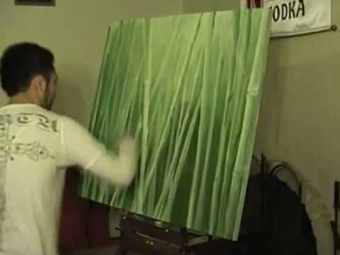 Bamboo Painting Youtube
