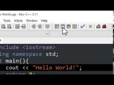 1. C++ Writing First Program | Hindi/Urdu tutorial | Hazara University