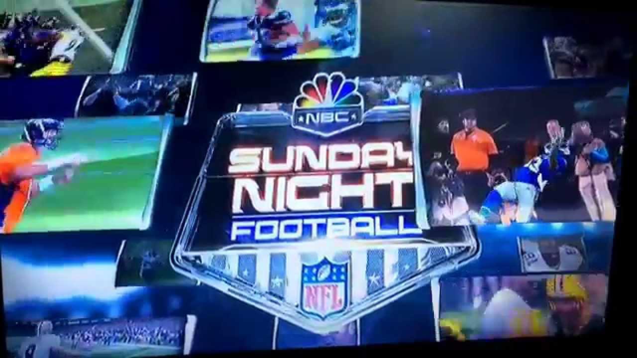 NBC Sports Sunday Night Football Gold NFL Anthem - YouTube