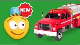 Fire Brigade | Fire Tanker Construction Game | Educational Videos for Children