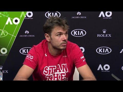 Stan Wawrinka press conference (4R) | Australian Open 2017