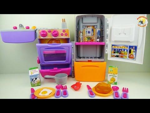 Кухня-чемодан. Игровой набор для девочек / Game set for girls