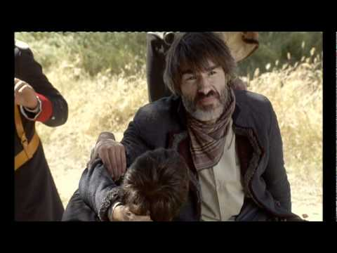 Bandolera  Sara le salva la vida al teniente Romero