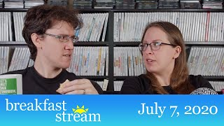 """☀️ Breakfast Stream   July 7, 2020 - """"Mad About Wiggling Pigs"""""""