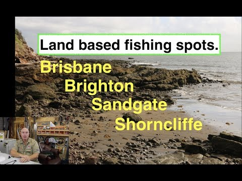 Fishing, Brighton, Sandgate, Shorncliffe. Maps And Spots.