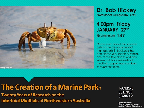 Creation of a Marine Park: 20 Years of Research on Intertidal Mudflats of NW Australia
