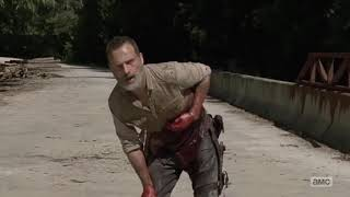 "The Walking Dead - Rick's ""Death"" Scene"