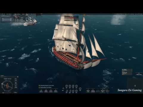 Naval Action] British Fleet vs France Espana Pirates Combine