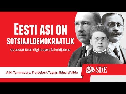 Ajaloolane Jaak Juske räägib Eduard Vildest, Friedebert Tuglasest ning A.H. Tammsaarest