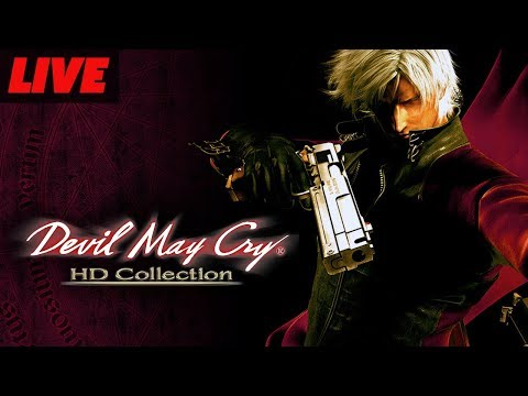 Devil May Cry HD Collection Live Gameplay