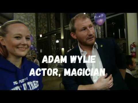ADAM WYLIE, Magician at Xenite Retreat, April 2018