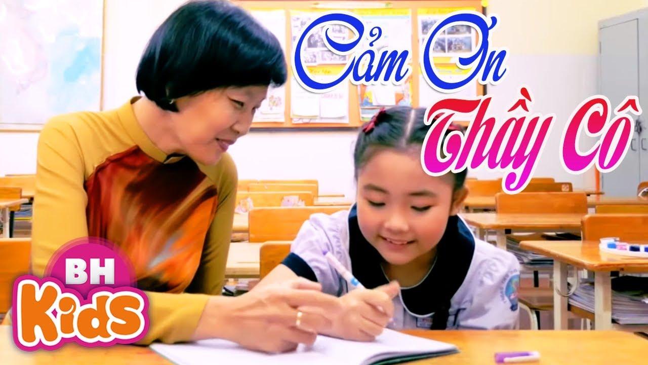 Chúng Con Cảm Ơn Cô ♫ Thương Lắm Thầy Cô Ơi - Bài Hát Thiếu Nhi Hay Nhất Dành Tặng Thầy Cô