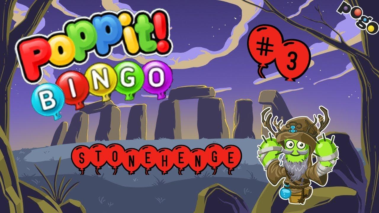 Pogo Games ~ Poppit Bingo #3