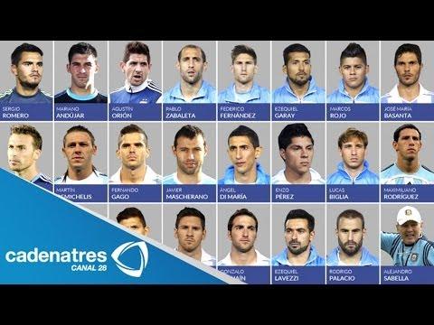 Argentina: Alejandro Sabella, técnico albiceleste, da la lista de 23 convocados para el Mundial 2014