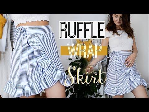 How to make a Ruffled Wrap Skirt | Owlipop DIY