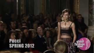 Emilio Pucci Spring/Summer 2012 Runway Show | Global Fashion News
