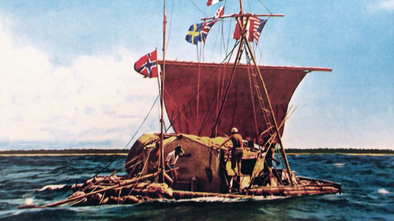 Great Voyages Thor Heyerdahl And Kon Tiki A Grand Experiment In Archaeology Youtube