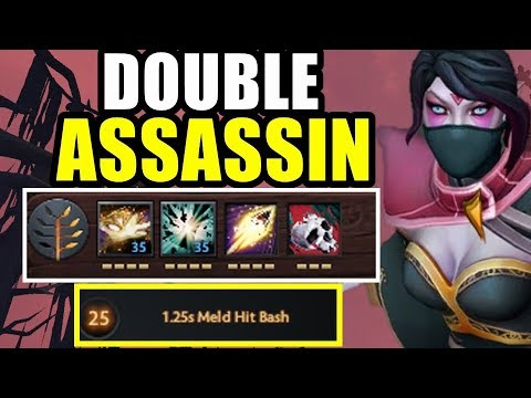 Double Assassin Double Carry | Dota 2 Ability Draft