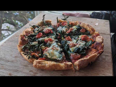 Easy Gluten-Free Sourdough Pizza Recipe