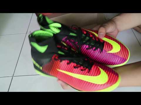 7375a7b557 Nike Mercurial Superfly V IC Futsal Unboxing