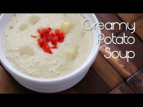 Creamy Vegan Potato Soup