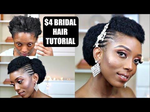 $4-simple-natural-4c-bridal-faux-updo-tutorial-on-short-hair