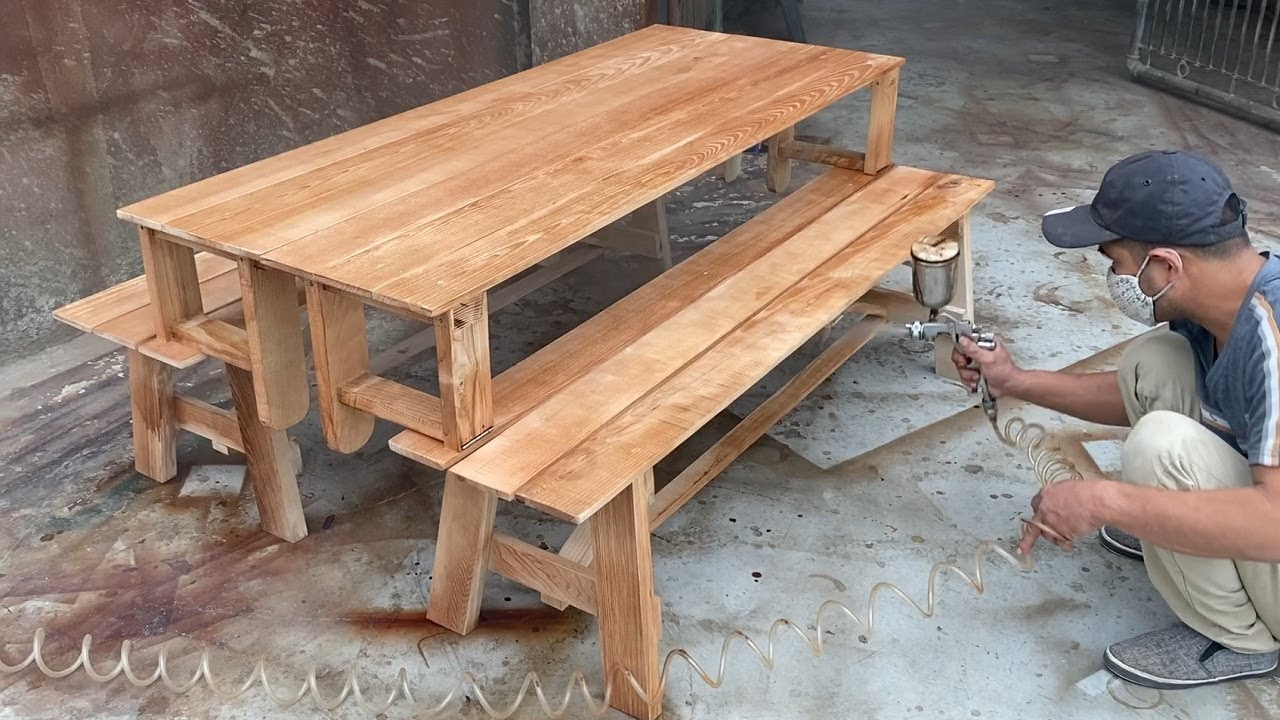 How To Building A Smart Modern Beautiful Wooden Table ...